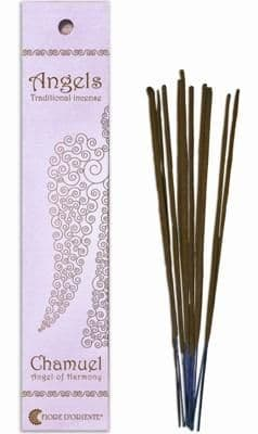 Angels Incense: Chamuel - Angel of Harmony - Traditional Incense Sticks by Fiore D'Oriente