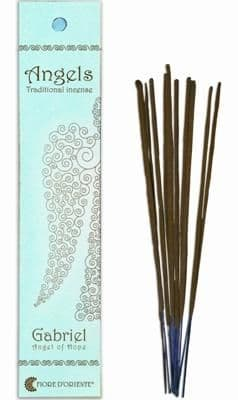 Angels Incense: Gabriel - Angel of Hope - Traditional Incense Sticks by Fiore D'Oriente