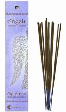 Angels Incense: Metatron - Angel of Universal Love - Traditional Incense Sticks by Fiore D'Oriente