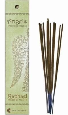 Angels Incense: Raphael - Angel of Health - Traditional Incense Sticks by Fiore D'Oriente