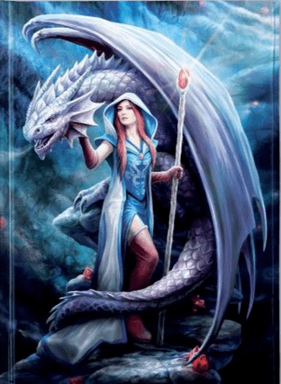 Anne Stokes - Dragon Mage (Foiled Journal)