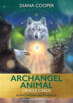 Diana Cooper -  Archangel Animal Oracle Cards: A 44-Card Deck and Guidebook