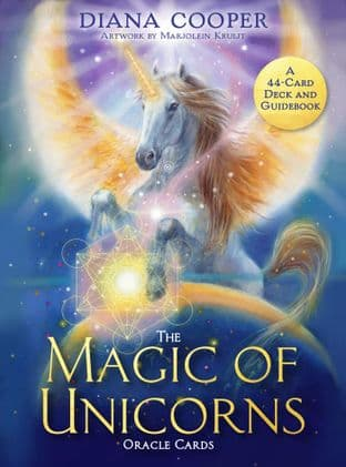 Diana Cooper -  The Magic of Unicorns Oracle Cards: A 44-Card Deck and Guidebook
