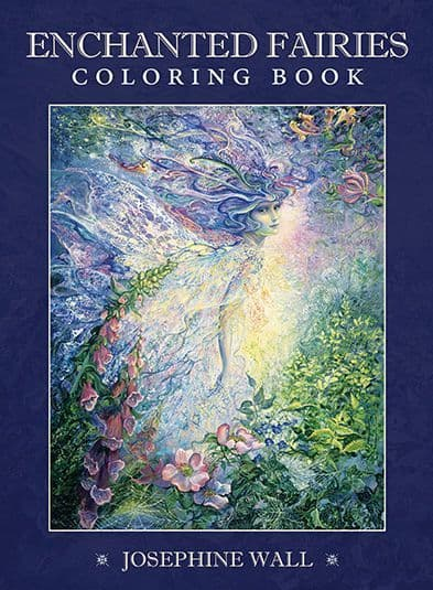 Enchanted Fairies - Colouring Book by Josephine Wall