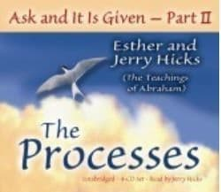 Esther & Jerry Hicks / Abraham CD - Ask & It Is GIven Part 2 (4CDs)