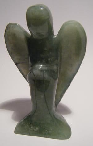 Gemstone Angel: Neferite Jade (Large)