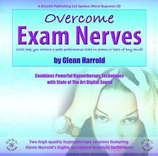 Glenn Harrold - Overcome Exam Nerves: Hypnosis CD