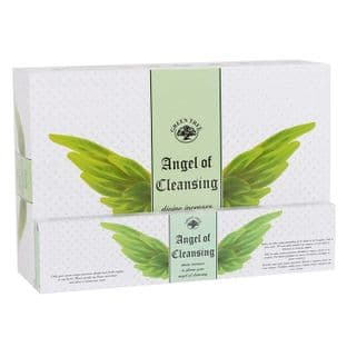 Green Tree - Angel Incense Sticks - Angel of Cleansing (12 sticks)