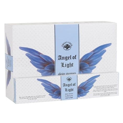 Green Tree - Angel Incense Sticks - Angel of Light (12 sticks)