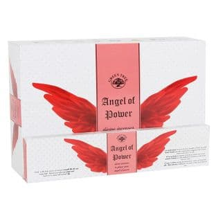 Green Tree - Angel Incense Sticks - Angel of Power (12 sticks)