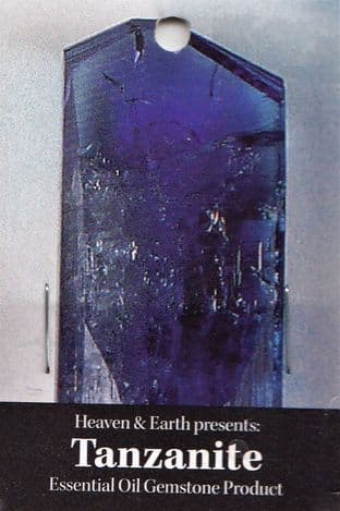 Heaven & Earth's Essential Oil Gemstone Incense Sticks: Tanzanite