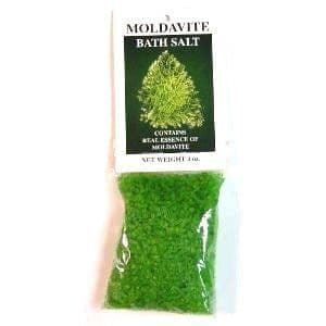 Heaven & Earth's Moldavite Crystal Bath Salts (4oz)