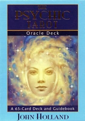 John Holland - The Psychic Tarot Oracle Deck (65 Card Deck & Guidebook)