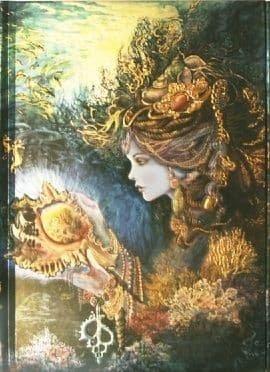 Josephine Wall - Daughter of the Deep (Foiled Journal)