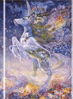 Josephine Wall - Soul of a Unicorn Design (Foiled Journal)