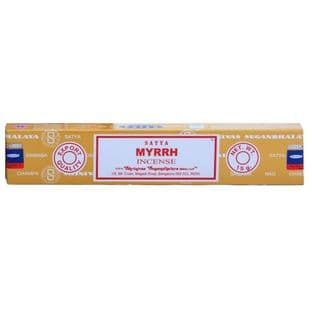 Myrrh - Satya Incense Sticks (15g)