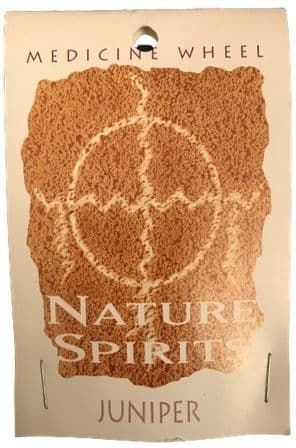 Sage Spirit Medicine Wheel - Nature Spirits Incense Sticks - Juniper