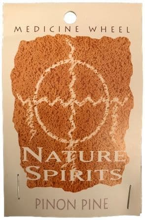 Sage Spirit Medicine Wheel - Nature Spirits Incense Sticks - Pinon Pine