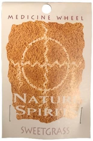 Sage Spirit Medicine Wheel - Nature Spirits Incense Sticks - Sweetgrass