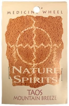 Sage Spirit Medicine Wheel - Nature Spirits Incense Sticks - Taos Mountain Breeze
