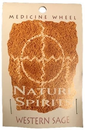 Sage Spirit Medicine Wheel - Nature Spirits Incense Sticks - Western Sage