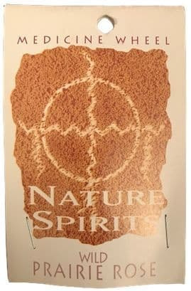 Sage Spirit Medicine Wheel - Nature Spirits Incense Sticks - Wild Prairie Rose