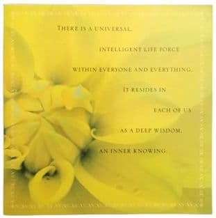 Shakti Gawain Inspirational Blank Greetings Card - Inner Knowing - SALE