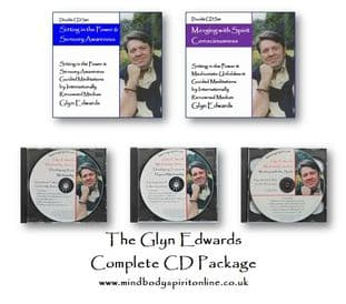 SPECIAL OFFER: The Complete Glyn Edwards CD (Audio) Package - June 2019 - 10% Discount