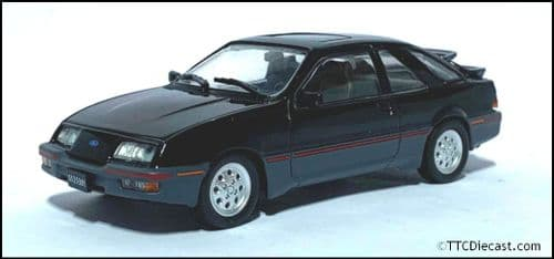1:43 Scale Diecast - Ford Sierra XR4 1984 Black  - In Solid plastic case - MAG LX47