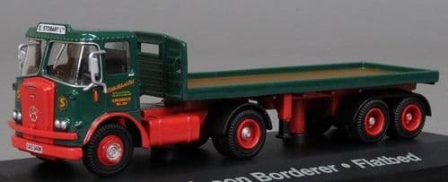 4649103 ATLAS Stobart Atkinson Borderer with flatbed trailer Stobart