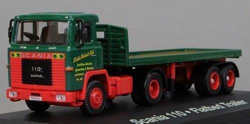 4649109 ATLAS Stobart Scania 110 Day Cab Flat/Tipper Stobart