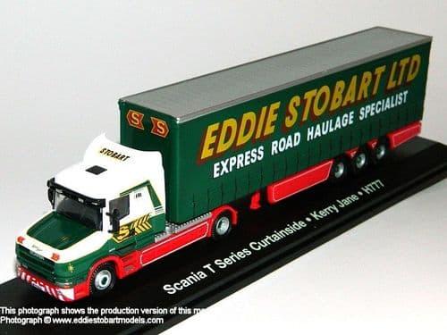 4649110 ATLAS Stobart Scania T Cab Curtainside trailer Stobart