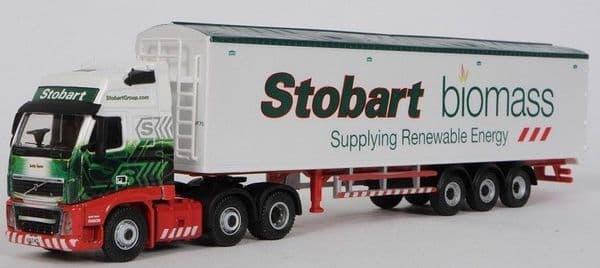 4649136 ATLAS Stobart Volvo FH Walking Floor (Biomass) Stobart  * LAST ONE *