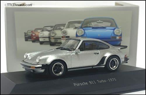 7114005 Porsche 911 Turbo (930) 1975 - Silver - 1:43 Scale - MAG LP05