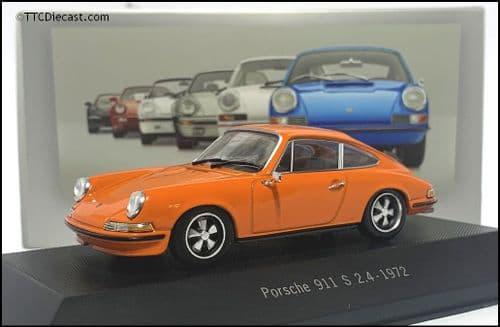 7114010 Porsche 911 S 2.4 1972 - Orange - 1:43 Scale - MAG LP10
