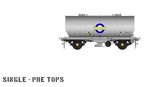 Accurascale ACC1057-PCV-1 APCM Cemflo / PCV Powder Wagon - Single Pack - LA200 preTOPS