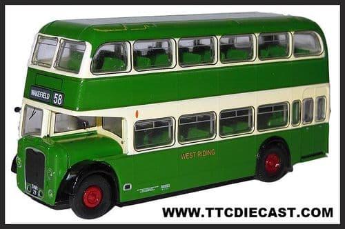 BASE TOYS B105B Bristol Lodekka LD1 - West Riding (418)