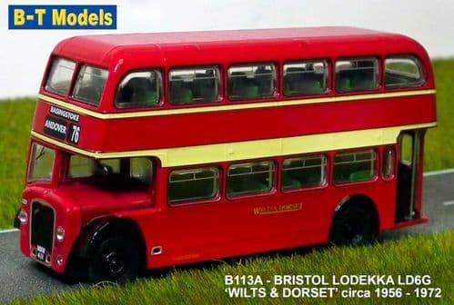 BASE TOYS B113A Bristol Lodekka LD5G - Wilts & Dorset(76)