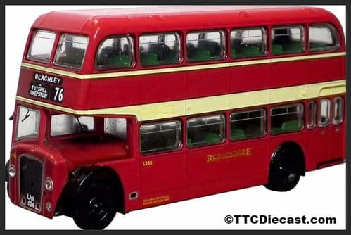 BASE TOYS B114A Bristol Lodekka LD6G - Red & White (76)