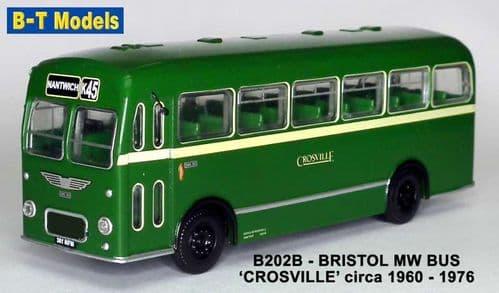 BASE TOYS B202B Bristol MW SD - Crosville (Nantwich)