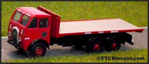 BASE TOYS DA86 Foden DG 6x4 Flatbed - British Road Servis
