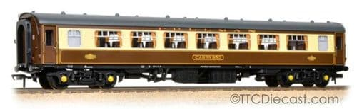 Bachmann 39-310C BR Mk1 SP Pullman Second Parlour Umber & Cream (With Lighting)