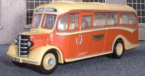 CORGI 42608 Bedford OB / Duple Vista Yelloway Motor Services - PRE OWNED