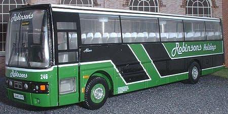 CORGI 42721 DAF MB230 / Van Hool Alizee Robinsons - PRE OWNED