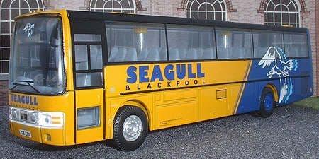 CORGI 42723 DAF SB3000 / Van Hool Alizee Seagull Blackpool - PRE OWNED