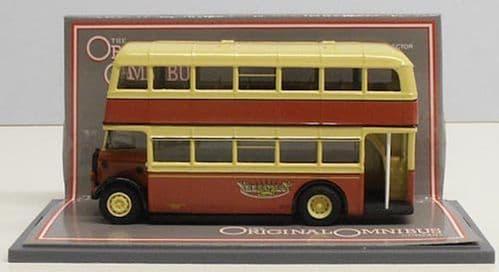CORGI 43917 Daimler CWA6 / Duple Utility Yelloway Motor Services - PRE OWNED