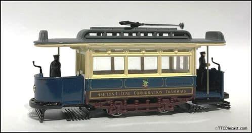 CORGI 97263 Single Deck Tram, Ashton Under Lyne, 1/72 Scale *PRE OWNED*