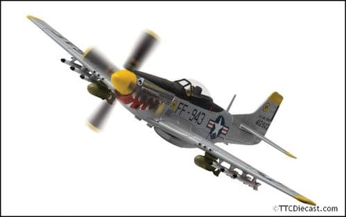 CORGI AA27702 North American F-51D Mustang, 44-12943/FF-943 Was that too fast?