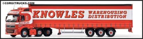 CORGI CC14034 Volvo FH (FL) C/Side - Knowles Transport **LAST ONE **
