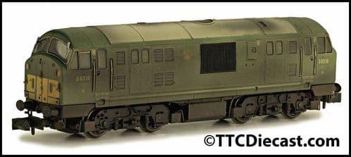 DAPOL 2D-012-009 Class 22 D6316 BR Green SYP Disc Headcode Weathered